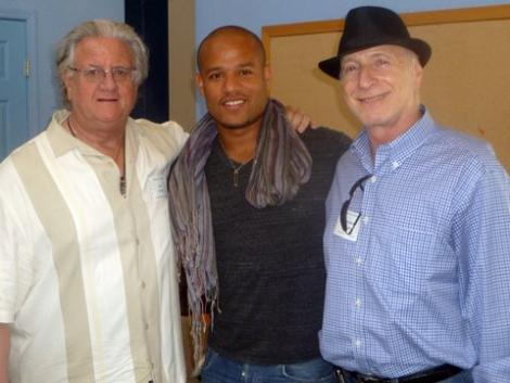 Ron Klemp, Gamal Palmer, and Stephen Sideroff, at the Seeds of Peace conference.